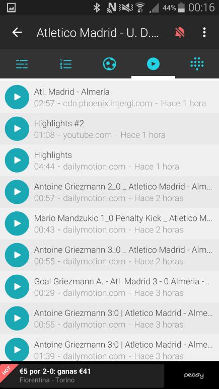 Vídeos Forza Fútbol