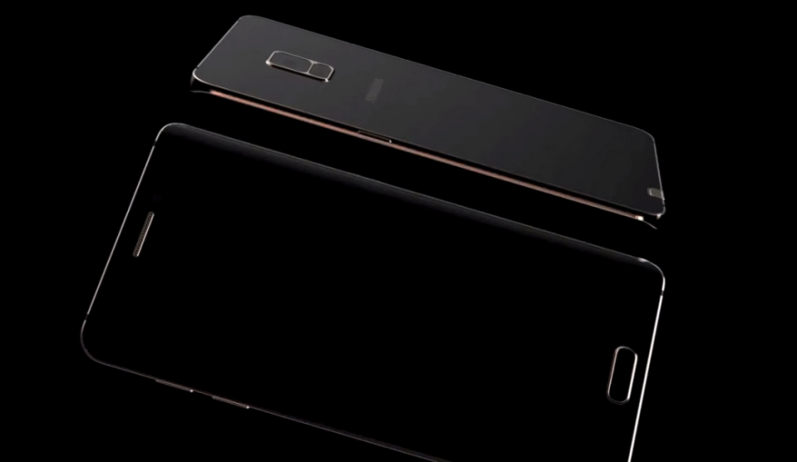 Note 5 Edge Black