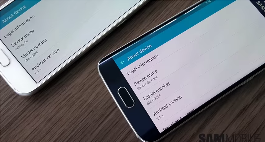 Android 5.1.1 Samsung S6