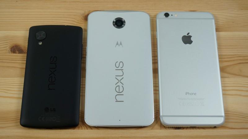 La gama Nexus y los iPhone prefieren ofrecer mejor experiencia sin entrar en la guerra de los Megapíxeles