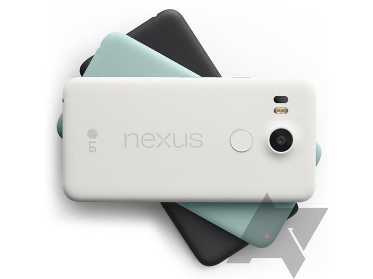 LG Nexus 5X colores