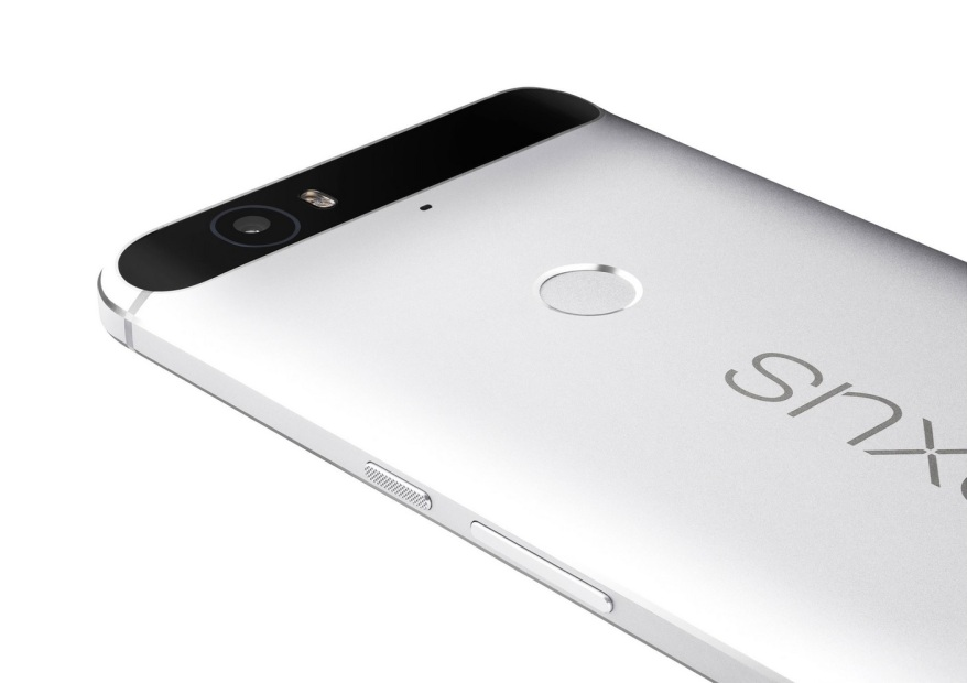 Nexus 6P trasera