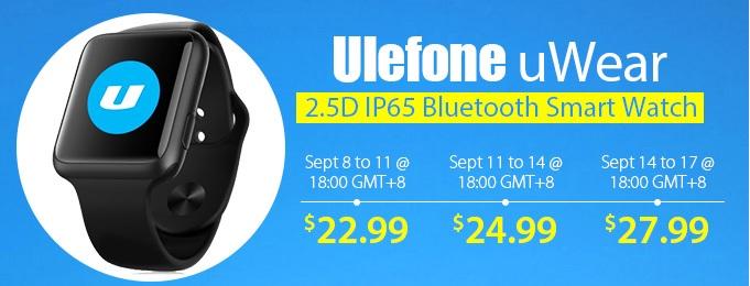 Oferta GearBest Ulefone uWear
