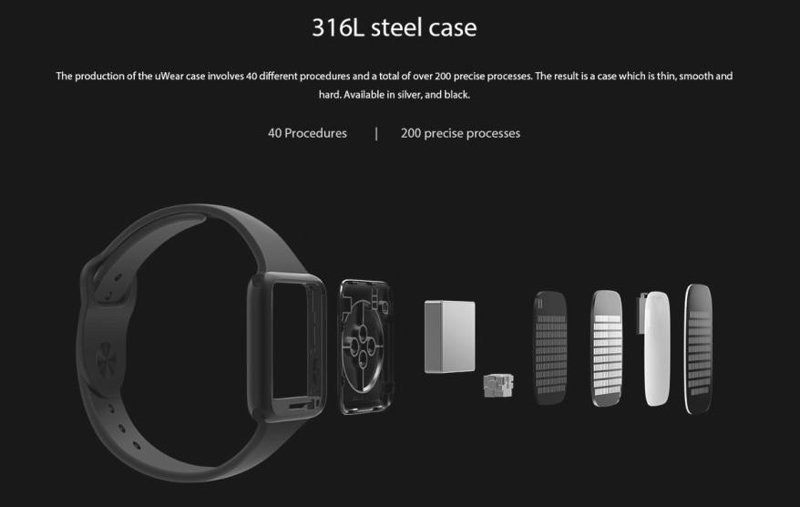 Ulefone uWear aluminio