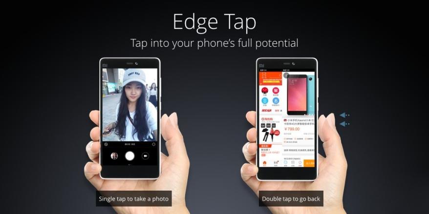 edge tap mi4c