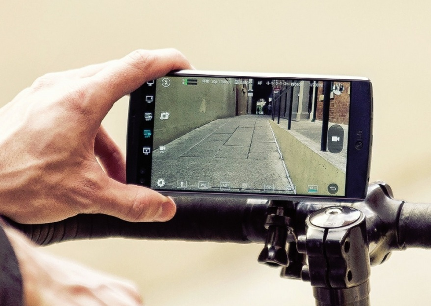 lg v10 cámara