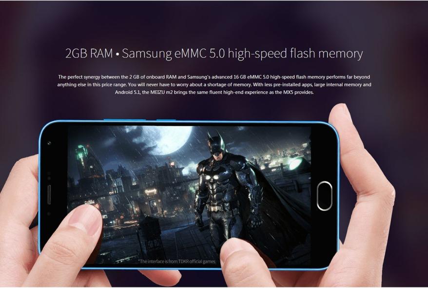 Meizu M2 RAM