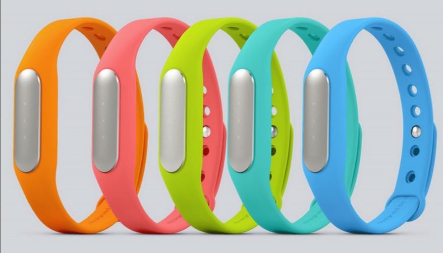 Xiaomi Mi band 1s colores