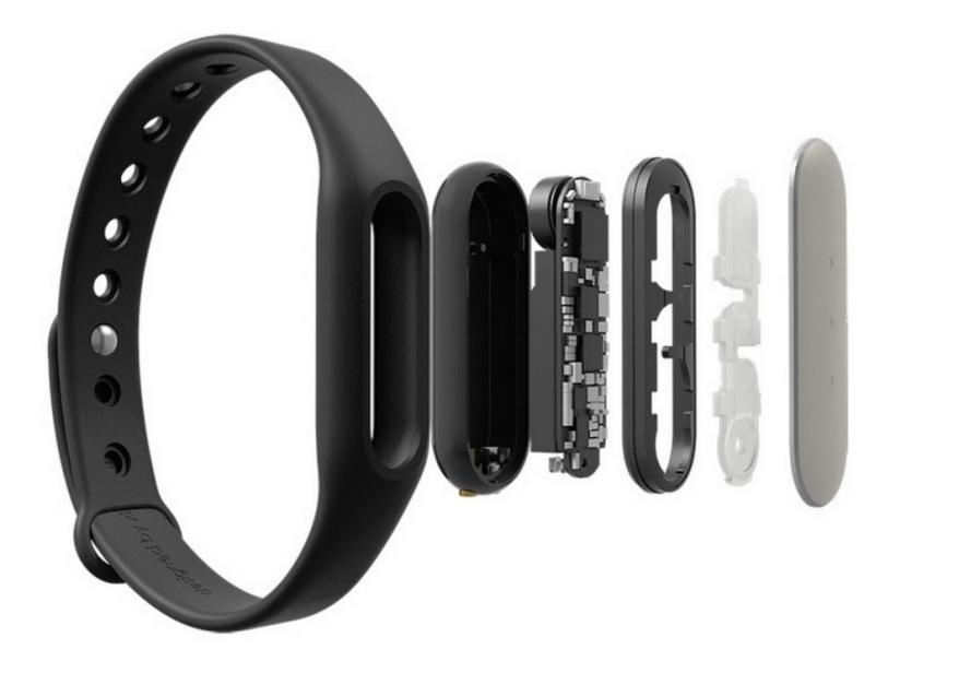 Xiaomi Mi band 1s sensores