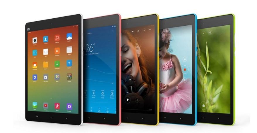 Xiaomi Mi Pad colores