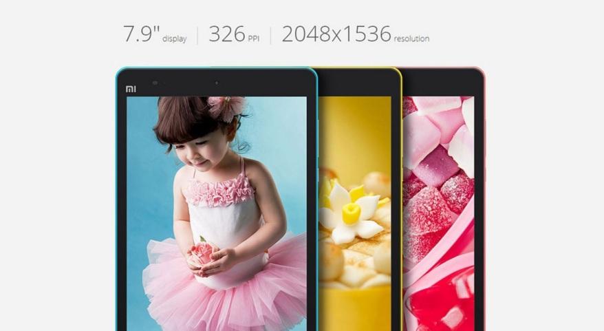 Xiaomi Mi Pad pantalla