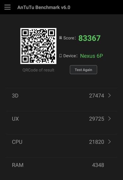 AnTuTu Nexus 6P