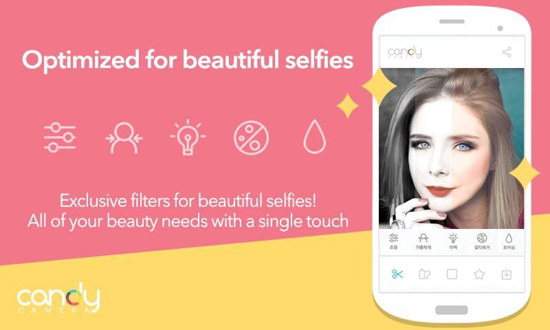 Cámara-Candy-Selfie-Selfies