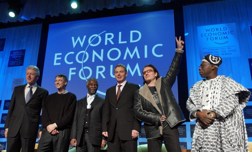 'The G-8 and Africa: Rhetoric or Action?': William J. Clinton; William H. Gates III; Thabo Mbeki; Tony Blair; Bono; Olusegun Obasanjo