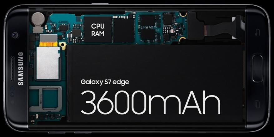 Samsung Galaxy S7 y S7 Edge batería