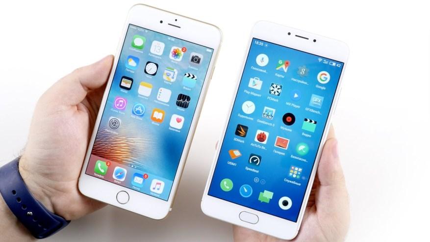 iPhone vs Meizu Pro 6