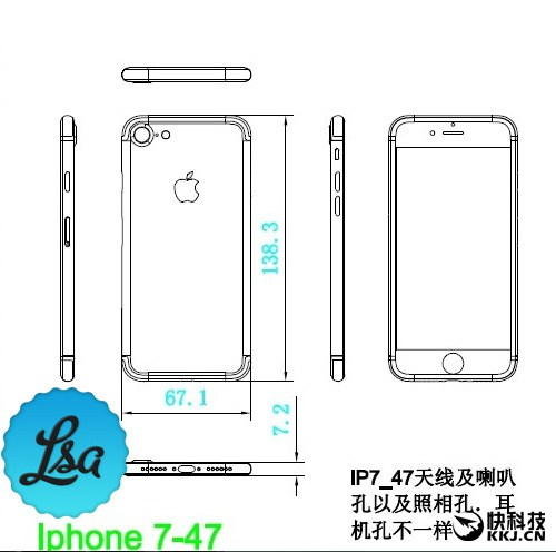 diagrama iPhone 7