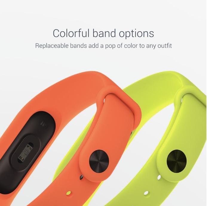 Mi Band 2 colores