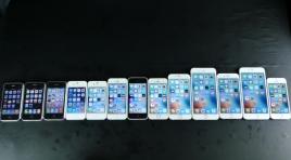 iphone-se-6s-plus-6-5s-5-4s-4-3gs-3g-2g-comparison