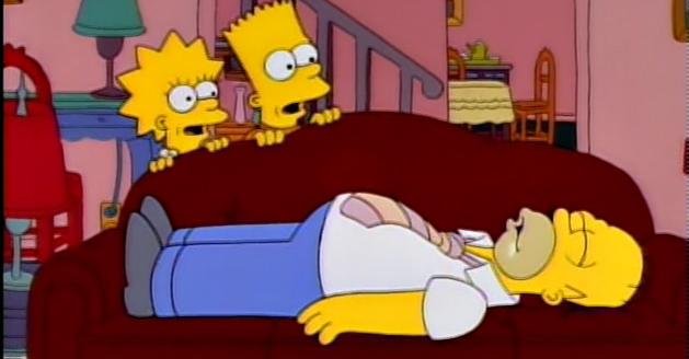 Homer-asleep