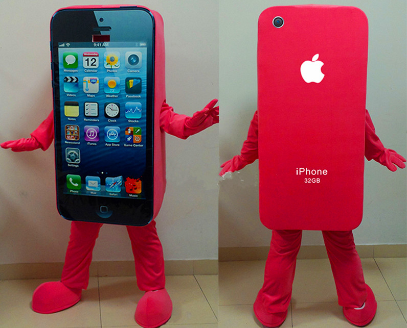 New-arrival-Cell-Phone-Apple-iPhone-5C-Mascot-costume-custom-anime-cosplay-kits-font-b-mascotte